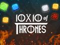 Denken-Spiel 10x10 of Thrones spielen