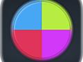 Geschick-Spiel Switch Colors spielen