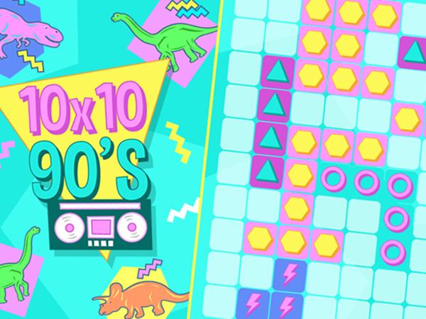 Bild zu HTML5-Spiel 10x10 90's