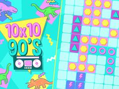 10x10 90's spielen