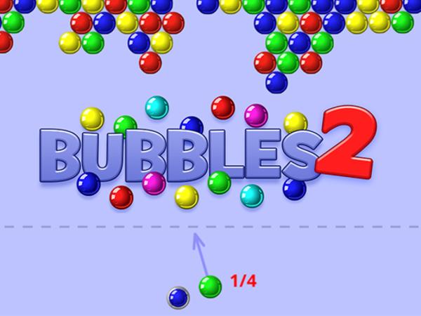 Bild zu Geschick-Spiel Bubbles 2