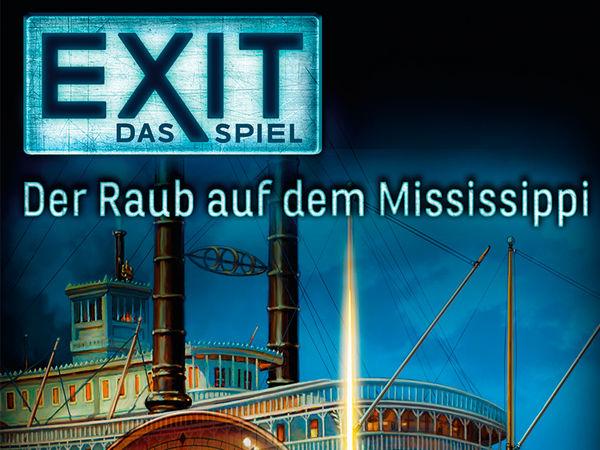 Bild zu Alle Brettspiele-Spiel Exit - Das Spiel: Der Raub auf dem Mississippi