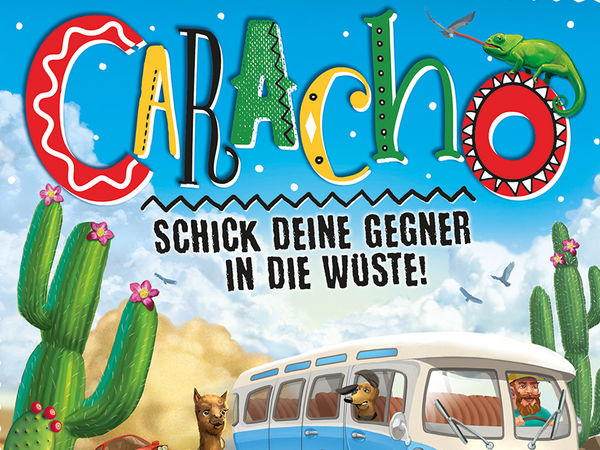 Bild zu Alle Brettspiele-Spiel Caracho!