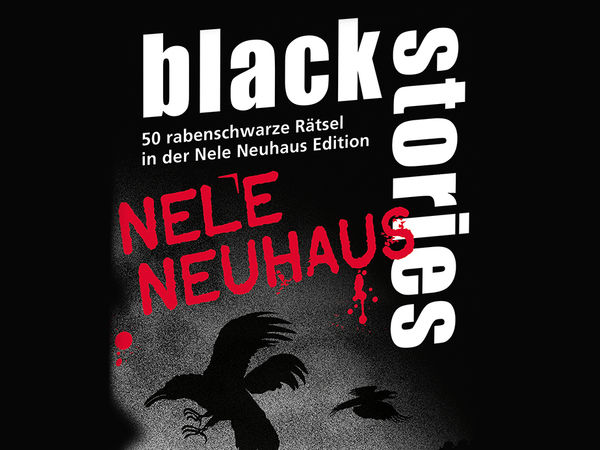 Bild zu Alle Brettspiele-Spiel Black Stories: Nele Neuhaus Edition