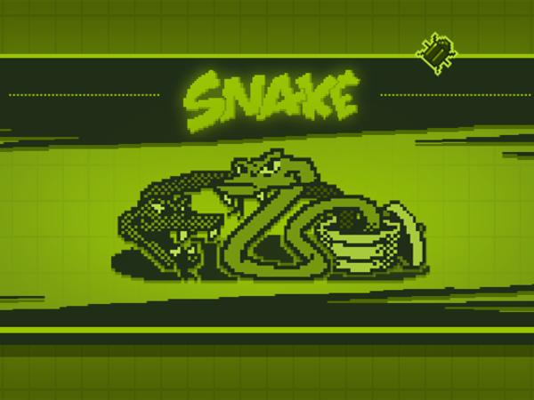 Bild zu Klassiker-Spiel Snake