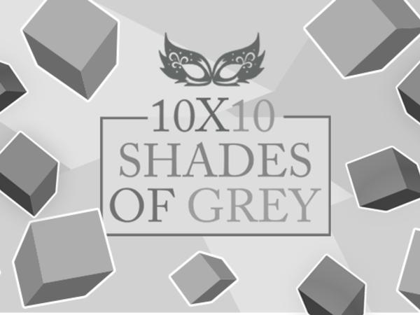 Bild zu Klassiker-Spiel 10x10 Shades of Grey