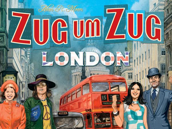 Bild zu Alle Brettspiele-Spiel Zug um Zug: London