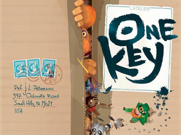 Bild zu Alle Brettspiele-Spiel One Key