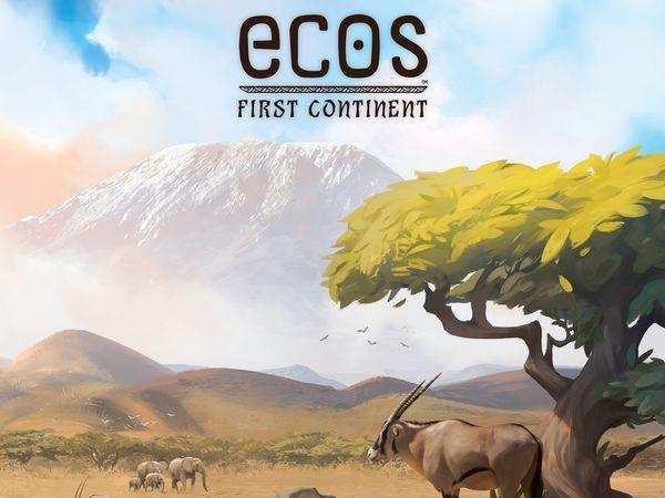 Bild zu Alle Brettspiele-Spiel Ecos: Der Erste Kontinent