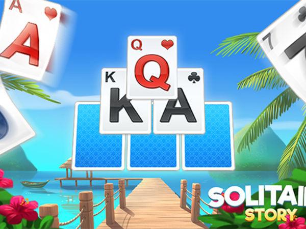 Bild zu Klassiker-Spiel Solitaire Story - TriPeaks