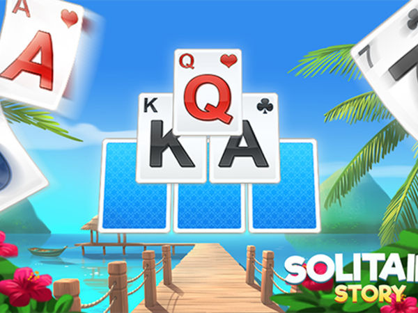 Bild zu Karten & Brett-Spiel Solitaire Story - TriPeaks