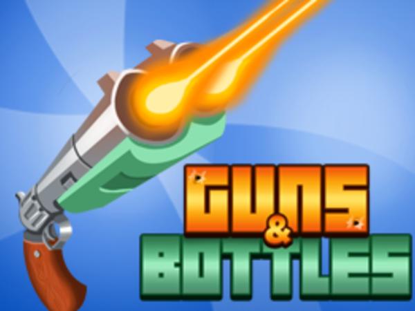 Bild zu Geschick-Spiel Guns and Bottles