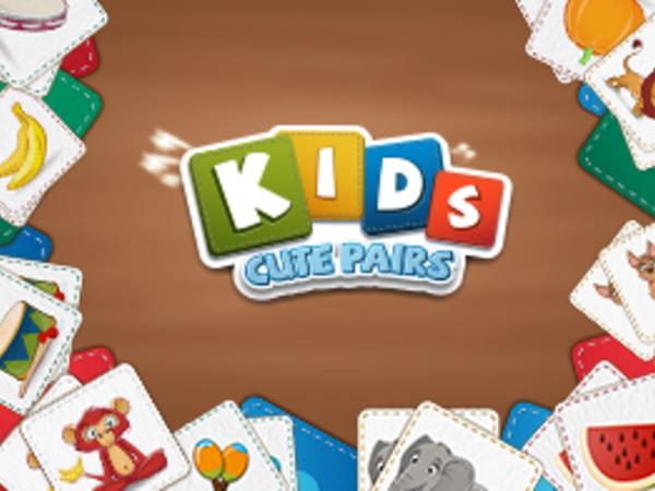 Bild zu Klassiker-Spiel Kids Cute Pairs