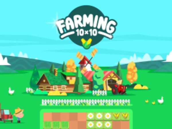 Bild zu Denken-Spiel Farming 10x10