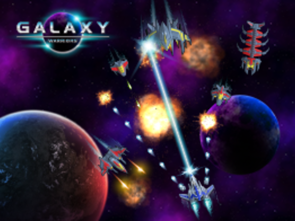 Bild zu Action-Spiel Galaxy warriors