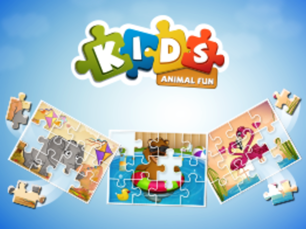 Bild zu Denken-Spiel Kids Animal Fun