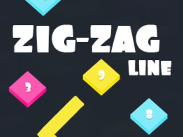 Bild zu Geschick-Spiel Zig Zag Line