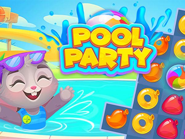 Bild zu Denken-Spiel Pool Party