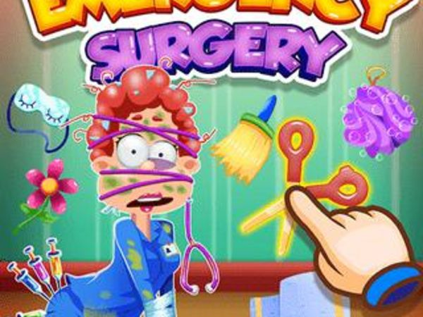 Bild zu Mädchen-Spiel Emergency Surgery