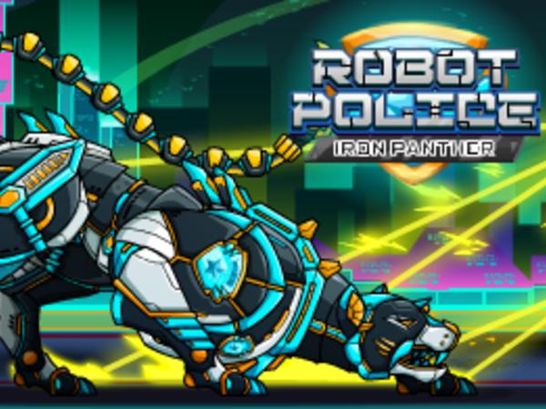 Bild zu HTML5-Spiel Robot Police