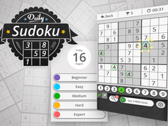 Daily Sudoku 2 spielen