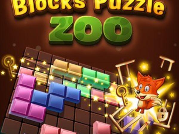 Bild zu Geschick-Spiel Blocks Puzzle Zoo