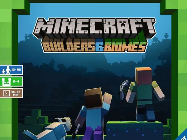 Bild zu Alle Brettspiele-Spiel Minecraft Builders & Biomes