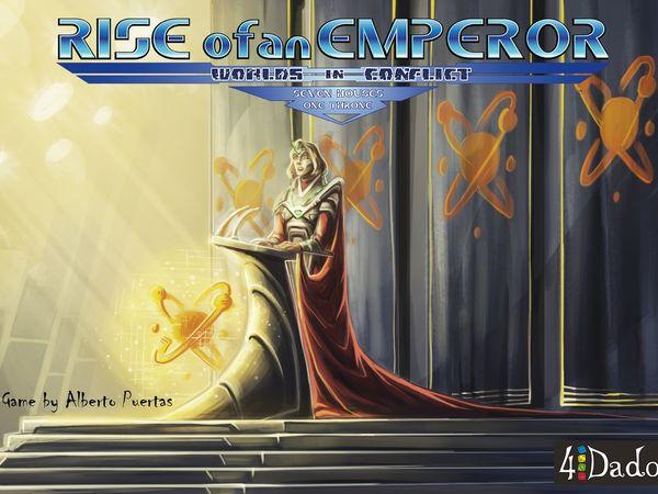 Bild zu Alle Brettspiele-Spiel Rise of an Emperor: Worlds in Conflict