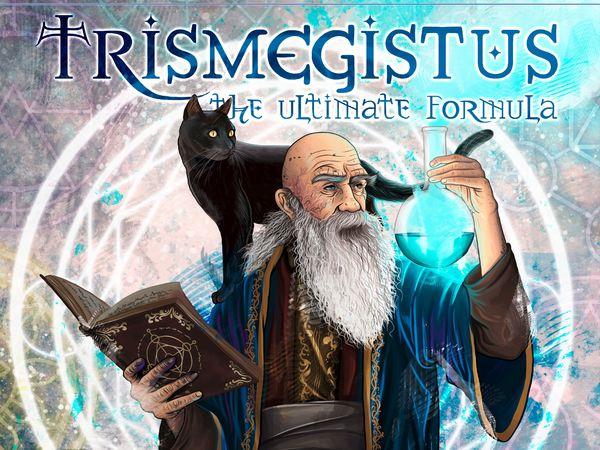 Bild zu Alle Brettspiele-Spiel Trismegistus: The Ultimate  Formula