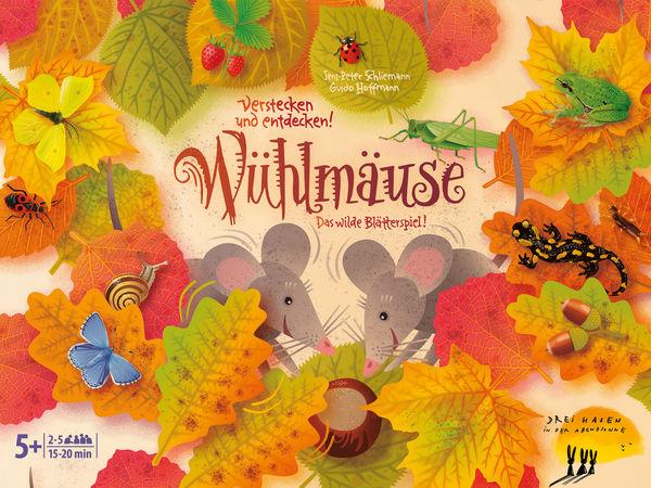 Bild zu Alle Brettspiele-Spiel Wühlmäuse: das wilde Blätterspiel
