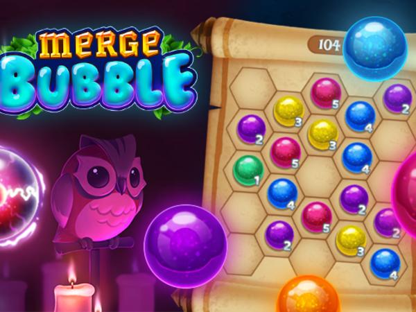 Bild zu Denken-Spiel Merge Bubble