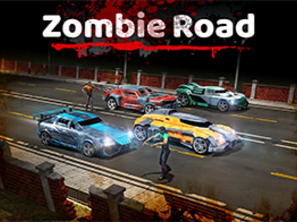 Bild zu HTML5-Spiel Zombie Road