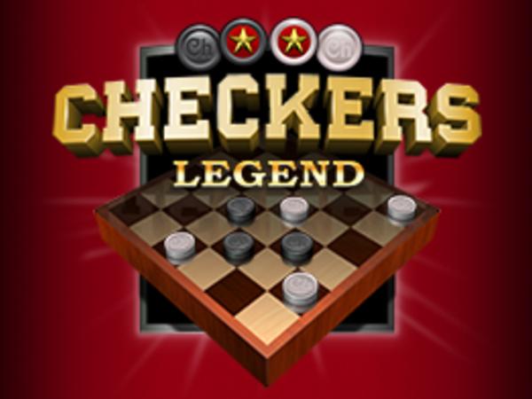Bild zu Karten & Brett-Spiel Checkers Legend