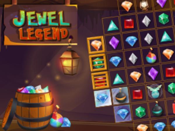 Bild zu Denken-Spiel Jewel Legend