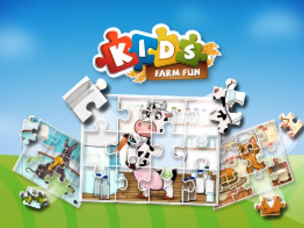 Bild zu Kinder-Spiel Kids Farm Fun