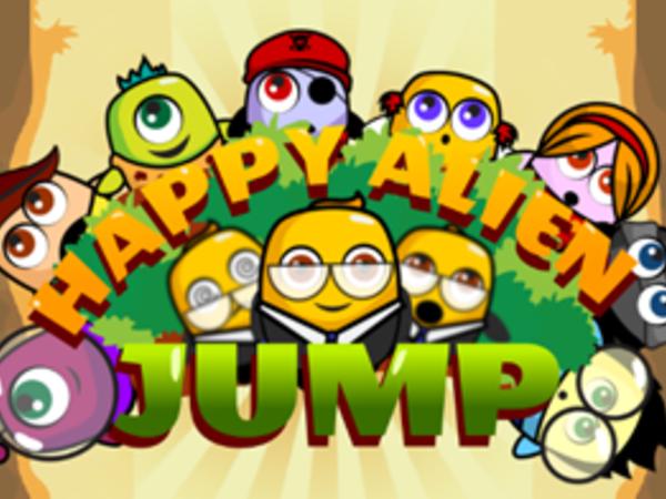 Bild zu Geschick-Spiel Happy Alien Jump