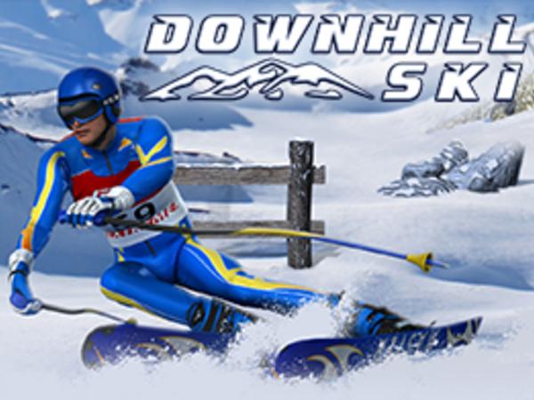 Bild zu Geschick-Spiel Downhill Ski