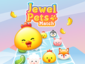 Denken-Spiel Jewels Pets Match spielen