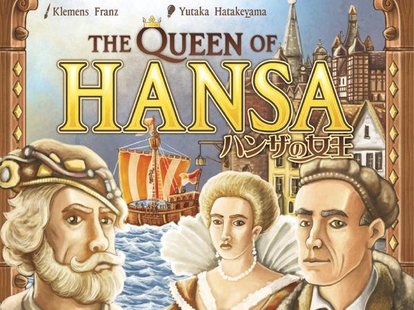 Bild zu Alle Brettspiele-Spiel The Queen of Hansa