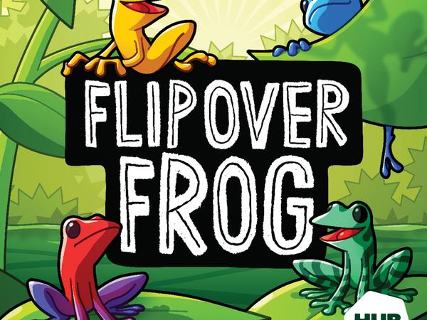 Bild zu Alle Brettspiele-Spiel Flip Over Frog