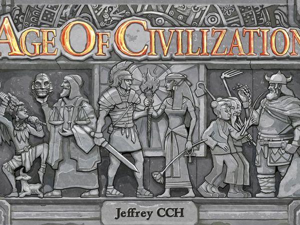 Bild zu Alle Brettspiele-Spiel Age of Civilization