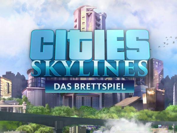 Bild zu Alle Brettspiele-Spiel Cities Skylines: Das Brettspiel