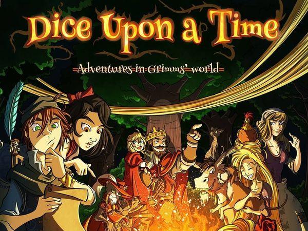 Bild zu Alle Brettspiele-Spiel Dice Upon a Time