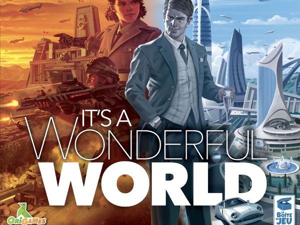 Bild zu Alle Brettspiele-Spiel It's a Wonderful World