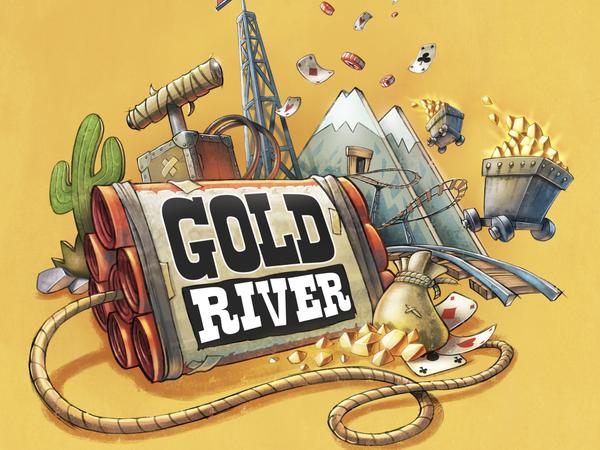 Bild zu Alle Brettspiele-Spiel Gold River