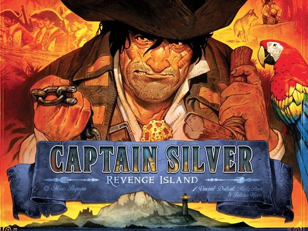 Bild zu Alle Brettspiele-Spiel Treasure Island: Captain Silver – Revenge Island