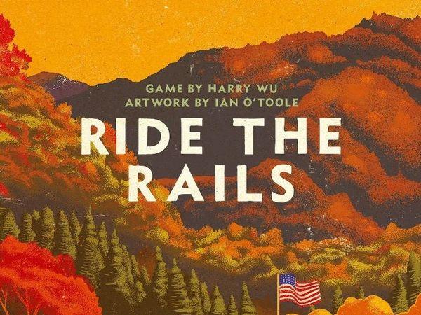 Bild zu Alle Brettspiele-Spiel Ride the Rails