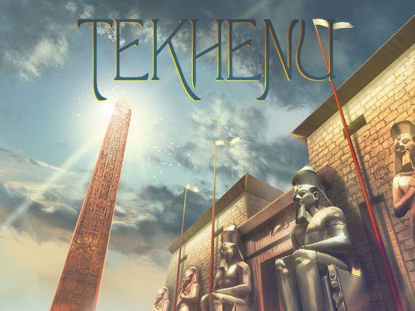 Bild zu Alle Brettspiele-Spiel Tekhenu: Obelisk of the Sun