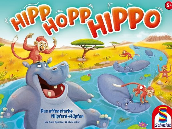 Bild zu Alle Brettspiele-Spiel Hipp Hopp Hippo