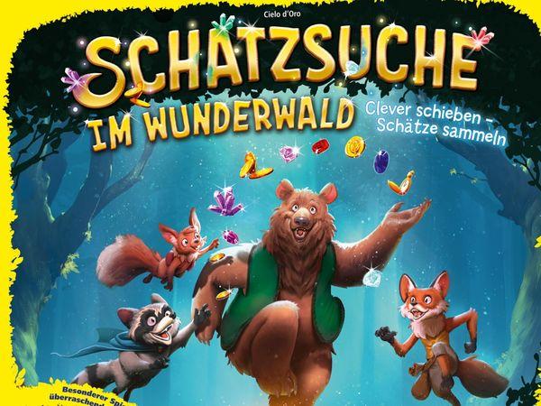Bild zu Alle Brettspiele-Spiel Schatzsuche im  Wunderwald